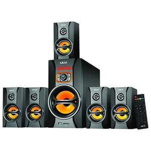 Boxe AKAI SS043A-AV9118, 5.1, 125W, Bluetooth, negru