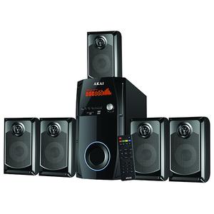 Boxe AKAI SS044A-AV9082, 5.1, 115W, Bluetooth, negru