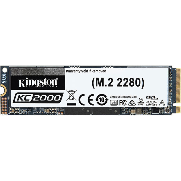 Solid-State Drive (SSD) KINGSTON KC2000, 500GB, PCI Express x4, M.2, SSKC2000M8/500G