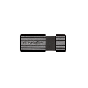 Memorie USB VERBATIM PinStripe ST300400, 32GB, USB 2.0, negru