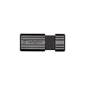 Memorie USB VERBATIM PinStripe ST300402, 64GB, USB 2.0, negru