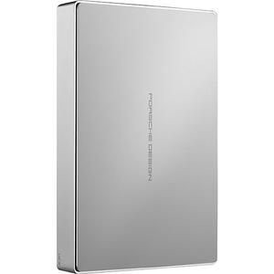Hard Disk Drive portabil LACIE PORSCHE Design mobile STFD4000400, 4TB, USB 3.0 Type C, aluminiu