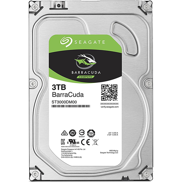 Hard Disk desktop SEAGATE BarraCuda 3TB, SATA3, 256MB, ST3000DM007