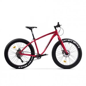 Bicicleta Fat Bike PEGAS Suprem FX 17 10S, Rosu Mat