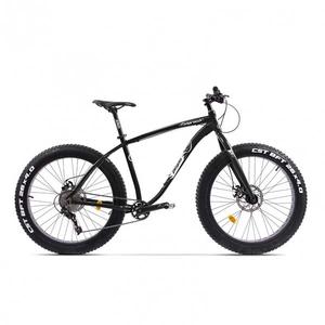 Bicicleta Fat Bike PEGAS Suprem FX 19 10S, Negru Stelar