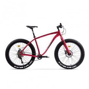 Bicicleta Fat Bike PEGAS Suprem FX 19 10S, Rosu Mat
