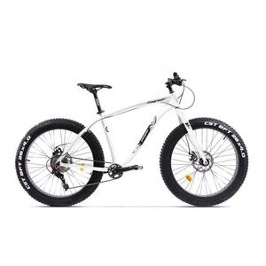 Bicicleta Fat Bike PEGAS Suprem FX 19 10S, Alb Perlat