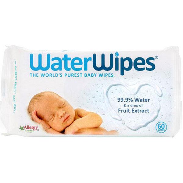 Servetele umede WATERWIPES, 60 buc