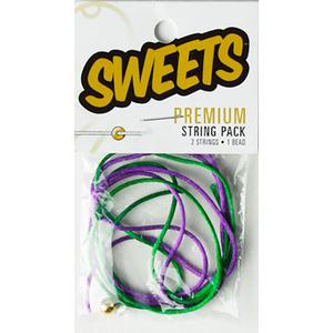 Sweets Kendama: Premium String Pack Green/Purple