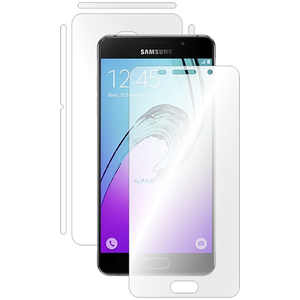 Folie protectie pentru Samsung GALAXY A5 (2016), SMART PROTECTION, fullbody, polimer, transparent