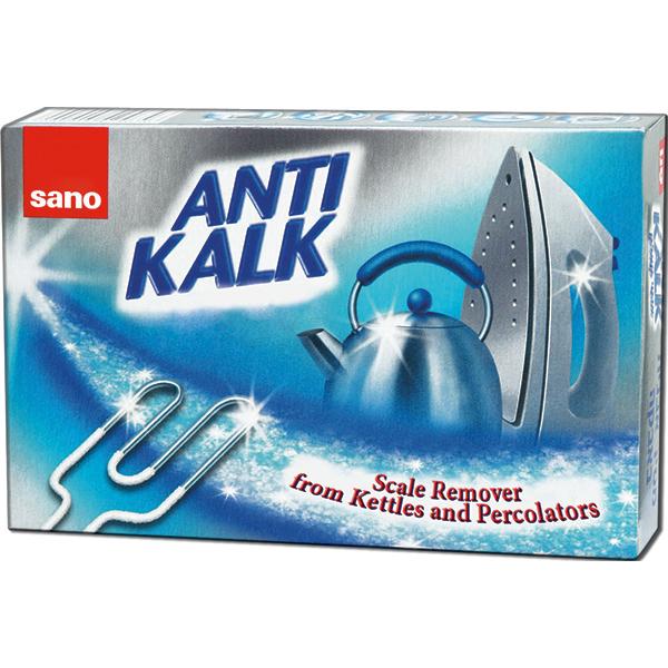 Pudra anticalcar electrocasnice SANO, 200g
