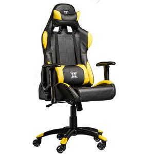 Scaun gaming SERIOUX Torin, negru-galben