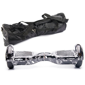 Scooter electric FREEWHEEL F1 Complete, 6.5 inch, graffiti skull + husa cadou