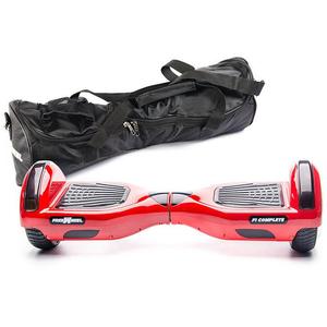 Scooter electric FREEWHEEL F1 Complete, 6.5 inch, rosu + husa cadou