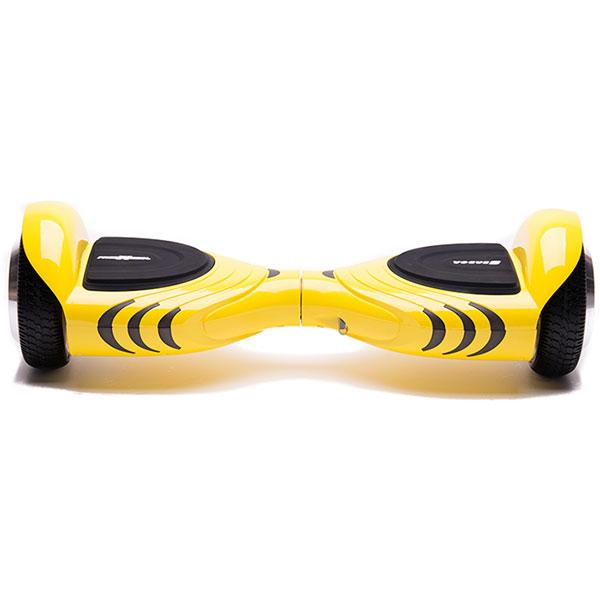 Scooter electric FREEWHEEL Vogue, 6.5 inch, viteza 12 km/h, motor 2 x 250W Brushless, galben