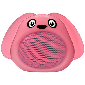 Boxa portabila pentru copii, PROMATE Snoopy, Bluetooth, roz