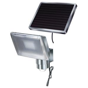 Lampa solara cu senzor de miscare BRENNENSTUHL SOL 80 ALU, 8 x 0.5W, 350 lumeni, argintiu