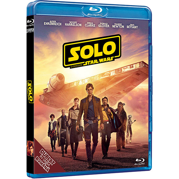 Solo: O poveste Star Wars Blu-ray