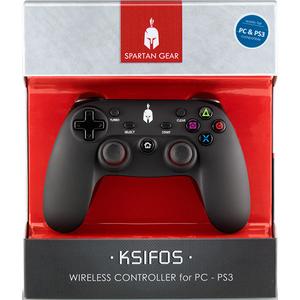 Controller wireless Spartan Gear Ksifos PC, negru