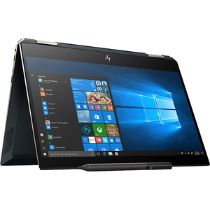 "Laptop 2 in 1 HP Spectre x360 13-ap0001nq, Intel® Core™ i7-8565U pana la 4.6GHz, 13.3"" Full HD, 8GB, SSD 256GB, Intel® UHD Graphics 620, Windows 10 Home, Albastru Poseidon"