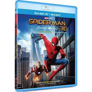 Omul-Paianjen: Intoarcerea acasa Blu-ray 3D+2D