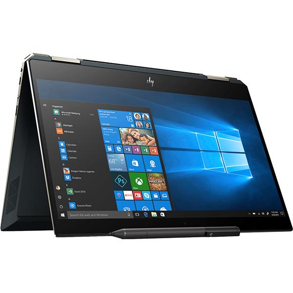 """Laptop 2 in 1 HP Spectre x360 13-ap0003nq, Intel® Core™ i7-8565U pana la 4.6GHz, 13.3"""" Full HD, 16GB, SSD 512GB, Intel® UHD Graphics 620, Windows 10 Home, Albastru Poseidon"""