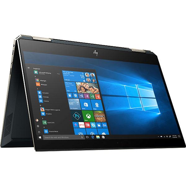 """Laptop 2 in 1 HP Spectre x360 13-ap0000nq, Intel® Core™ i5-8265U pana la 3.9GHz, 13.3"""" Full HD, 8GB, SSD 256GB, Intel® UHD Graphics 620, Windows 10 Home, Albastru Poseidon"""