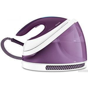 Statie de calcat PHILIPS PerfectCare Viva GC7051/30, 2l, 230g/min, 2400W, talpa SteamGlide Plus, alb - violet