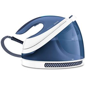 Statie de calcat PHILIPS PerfectCare Viva GC7057/20, 2l, 120g/min, 2400W, talpa SteamGlide Plus, alb - albastru