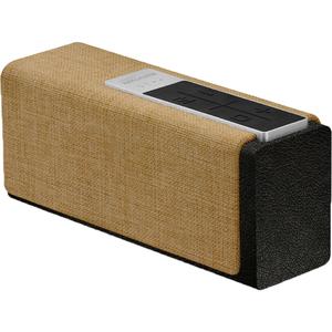 Boxa portabila PROMATE StreamBox-L, Bluetooth, USB, MicroSD, negru bej