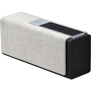 Boxa portabila PROMATE StreamBox-L, Bluetooth, USB, MicroSD, negru crem