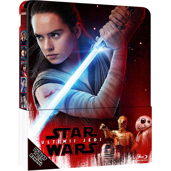 Star Wars: Ultimii Jedi Blu-ray Steelbook