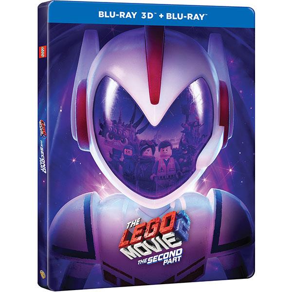 The LEGO Movie 2 Steelbook Blu-ray 3D