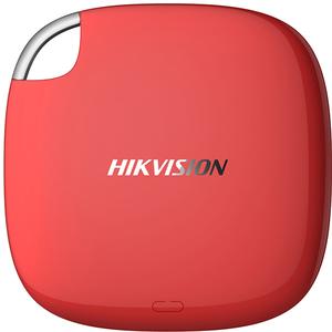 SSD portabil HIKVISION T100I, 120GB, USB 3.1 Type-C, rosu