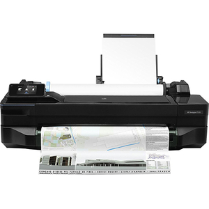 Plotter inkjet HP DesignJet T120 24 inch, A1, USB, Retea, Wi-Fi