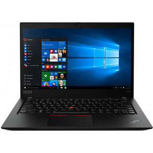 "Laptop LENOVO ThinkPad T490s, Intel® Core™ i5-8265U pana la 3.9GHz, 14"" Full HD, 8GB, SSD 512GB, Intel UHD Graphics 620, Windows 10 Pro, Negru"