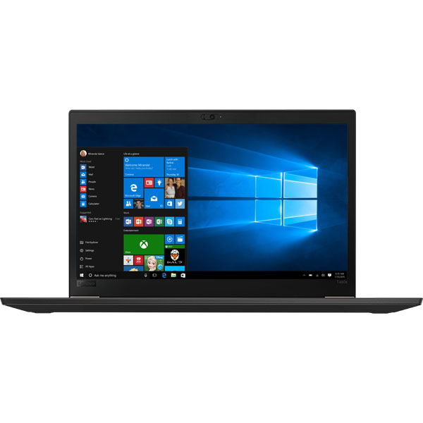 "Laptop LENOVO ThinkPad T480s, Intel Core i7-8550U pana la 4.0GHz, 14"" Full HD, 16GB, SSD 512GB, Intel UHD Graphics 620, Windows 10 Pro, Negru"