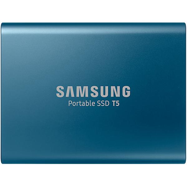 SSD portabil SAMSUNG T5 MU-PA250B/EU, 250GB, USB 3.1 Gen 2, albastru
