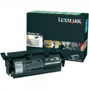 Toner LEXMARK XXL T654X11E Return Program, negru