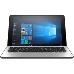 Laptop 2 in 1 HP Elite x2 1012 G1, Intel® Core™ m5-6Y57 pana la 2.8GHz, 12 WUXGA+, 8GB, SSD 256GB, Intel® HD Graphics 515, Windows 10 Pro, Argintiu