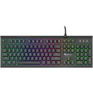Tastatura Gaming semi-mecanica NATEC Genesis Thor 200 RGB, USB, Layout US, negru