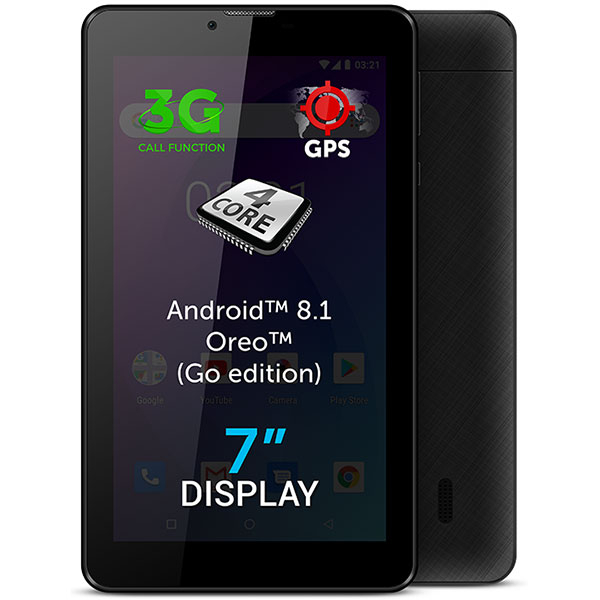"Tableta ALLVIEW AX503, 7"", 8GB, 1GB RAM, Wi-Fi + 3G, Black"