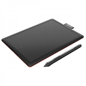 Tableta grafica WACOM One 2 Medium CTL-672-S, negru-rosu