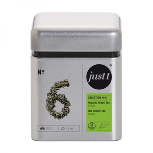 Ceai JUST T NO. 6 Organic Green Tea Classic BK306006, 100g