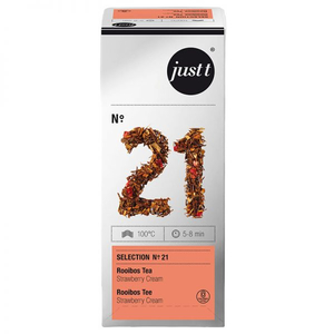 Ceai JUST T NO. 21 Rooibos Tea Strawberry Cream EC306421, 25 plicuri, 37.5g