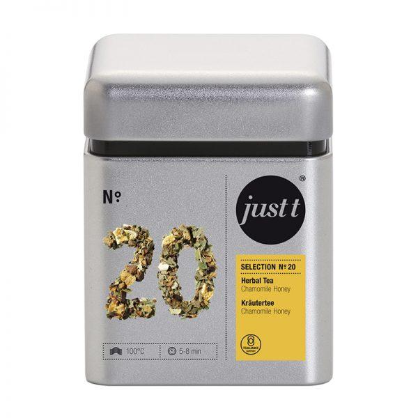 Ceai JUST T NO. 20 Herbal Tea Chamomile Honey BK306020, 90g