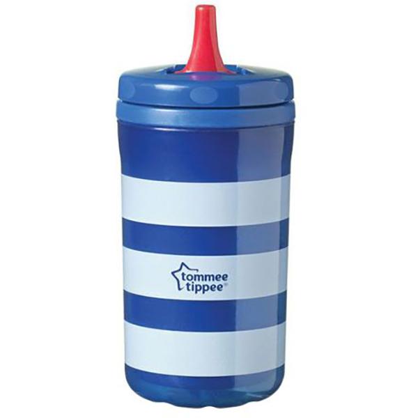 Cana TOMMEE TIPPEE Cool Cup, 18 luni +, 380ml, albastru
