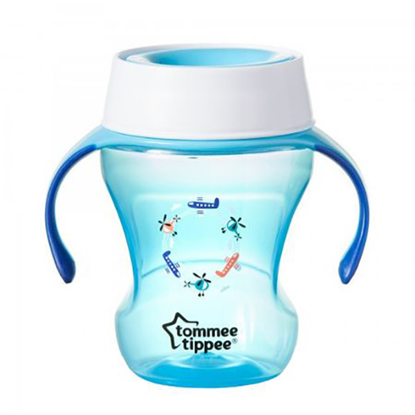 Cana TOMMEE TIPPEE Trainer 360, 6 luni +, 230ml, albastru deschis
