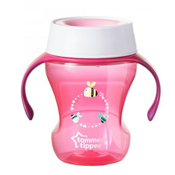 Cana TOMMEE TIPPEE Trainer 360, 6 luni +, 230ml, roz