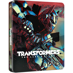 Transformers: Ultimul cavaler Blu-ray, Steelbook (3D + 2D)